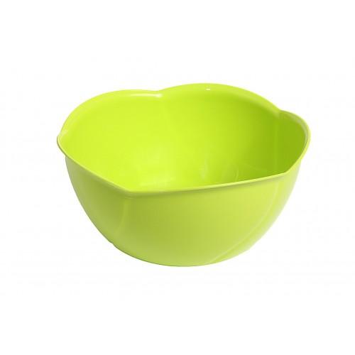 Китченмікс Салатник пластиковий d16см h8см (130_зеленый)