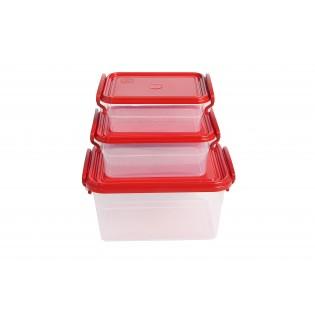 Набор контейнеров с ручками 2л+0.95л+0.55л (арт.47149)