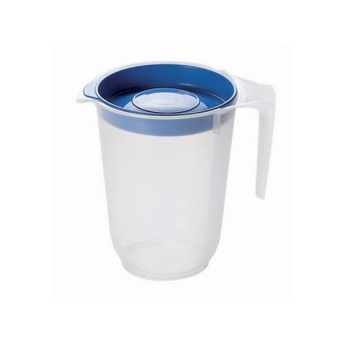 Китченмікс Ківш для води з кришкою 0,5л, 10*12,5см (122_синий)