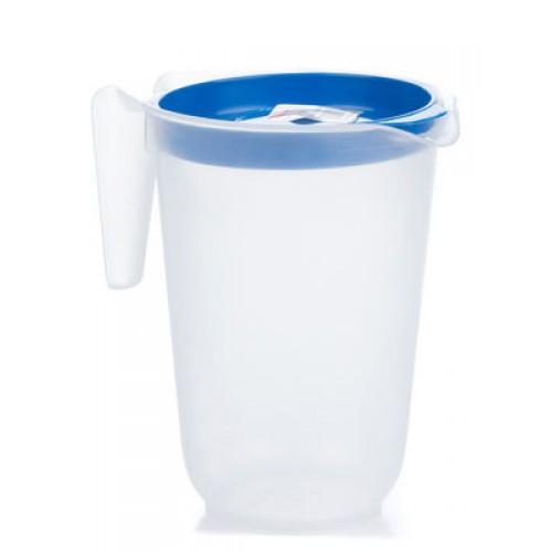 Китченмікс Ківш для води з кришкою 1л, 12*16,5см (123_синий)