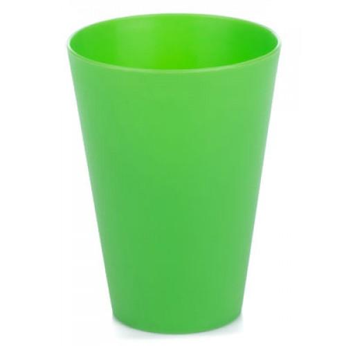 Китченмікс Склянка пластикова, 0.33л*18,5см (2606/1_зеленый)