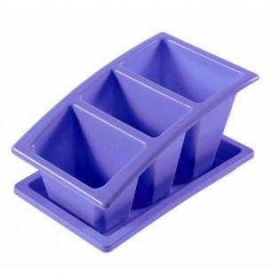 Китченмікс Сушарка для посуду на підставці 22*14*11,5см (2213_сереневый)