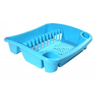 Китченмікс Сушарка для посуду 39*39*11см (2204_голубой)