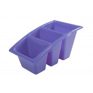 Китченмікс Сушарка для посуду 22*14*11,5см (2212_сереневый)