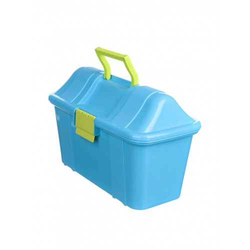 Боксманія Ящик пластиковий скриня 7,7л, 38,5*27,5*24см (6000_голубой)
