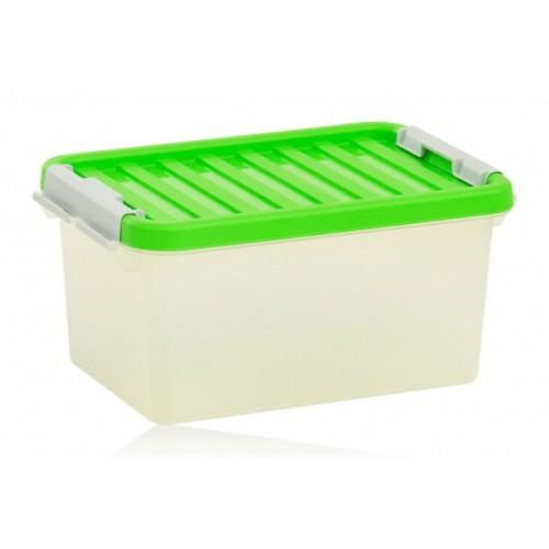 Бокс пластиковый для хранения, Clipbox 8л (1602_зеленый)
