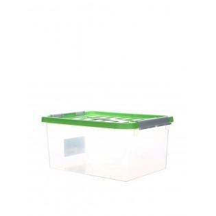 Бокс пластиковий для зберігання 5л (1630_зеленый)