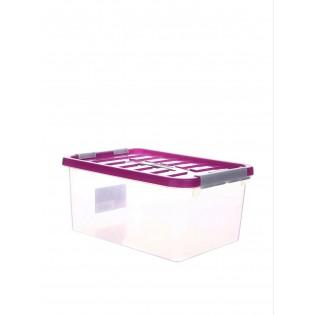 Бокс пластиковий для зберігання 5л (1630_розовый)