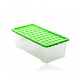 Квазар Ящик пластиковий 65л, 80*40*26см (1688_зеленый)