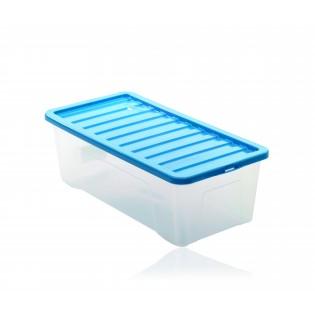 Квазар Ящик пластиковий 65л, 80*40*26см (1688_синий)