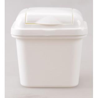 Рефьюз Відро для сміття з кришкою квадратне 1,5л, 14*16*15см (1427_белый)