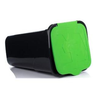 Рефьюз Відро для сміття з кришкою квадратне 50л (1433_зеленый)