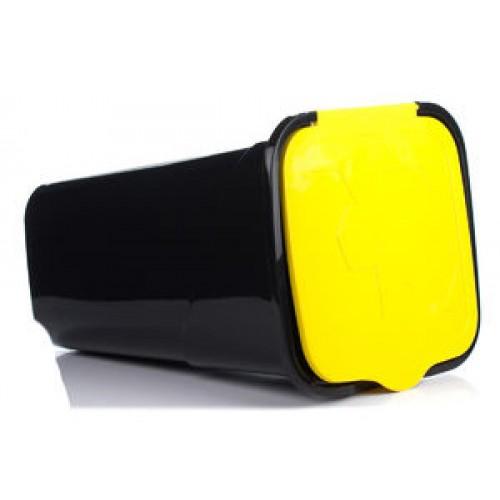 Рефьюз Відро для сміття з кришкою квадратне 50л (1433_желтый)