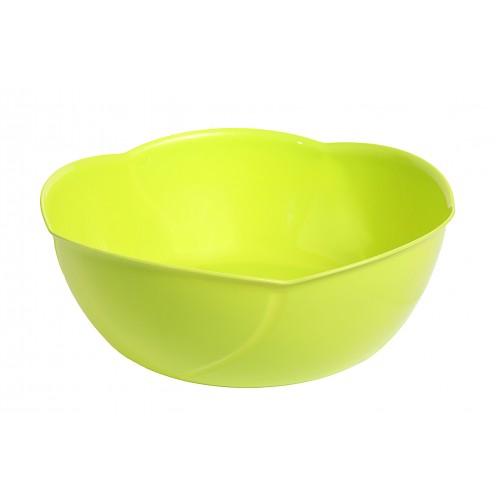 Китченмікс Салатник пластиковий d24см h10см (134_зеленый)