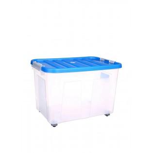 Кліпбокс Ящик пластиковий 75л, 60*40*40см (1615_синий)
