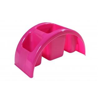 Китченмікс Сушарка для посуду 26*12*11,3см (2211_розовый)