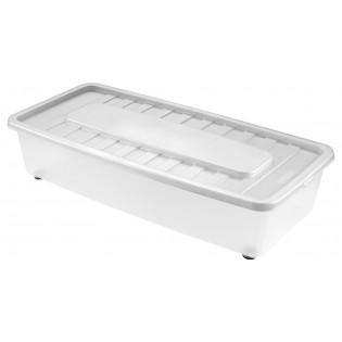 Боксманія Ящик пластиковий під ліжко 35л, 78*37*18см (1561_белый)