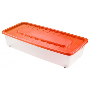 Боксманія Ящик пластиковий під ліжко 35л, 78*37*18см (1561_красный)
