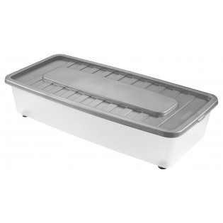 Боксманія Ящик пластиковий під ліжко 35л, 78*37*18см (1561_серый)