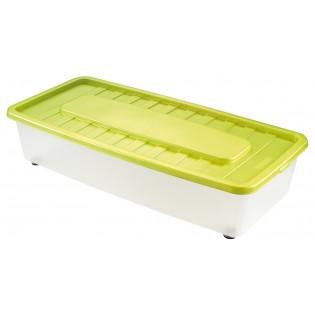 Боксманія Ящик пластиковий під ліжко 35л, 78*37*18см (1561_зеленый)