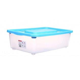 Боксманія Ящик пластиковий під ліжко 25л, 56*37*18см (1565_синий)