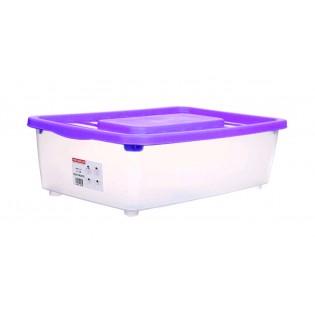 Боксманія Ящик пластиковий під ліжко 25л, 56*37*18см (1565_фиолетовый)