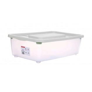 Боксманія Ящик пластиковий під ліжко 25л, 56*37*18см (1565_белый)