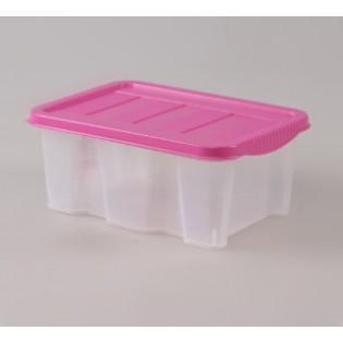 Боксманія Ящик пластиковий 1,5л 19*15см (1571_розовый)