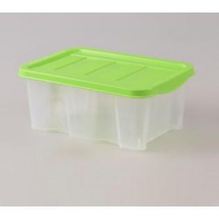 Боксманія Ящик пластиковий 1,5л 19*15см (1571_желтый)