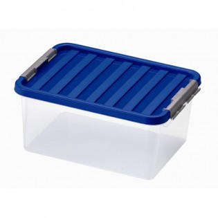 Кліпбокс Ящик пластиковий під ліжко 14л, 40*29*18см (1604_синий)