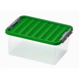 Кліпбокс Ящик пластиковий під ліжко 14л, 40*29*18см (1604_зеленый)