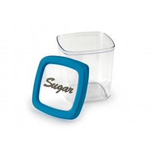 Контейнер для хранения сахара, 1л, синяя крышка (06029)