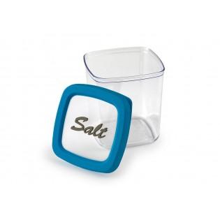 Контейнер для хранения соли, 1л, синяя крышка (06036)