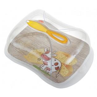 Контейнер для сыра с ножом, 3л (03240)
