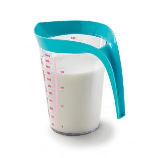 Мерный стакан, 1л Розовый (01888)